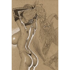 TAROT WITCH OF THE BLACK ROSE #131 DLX LITHO ED (MR)