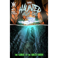 TWIZTID HAUNTED HIGH ONS CURSE OF GREEN BOOK #2 (OF 4) CVR A