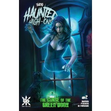 TWIZTID HAUNTED HIGH ONS CURSE OF GREEN BOOK #2 (OF 4) CVR B