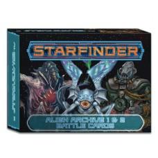 STARFINDER RPG ALIEN ARCHIVE 1 & 2 BATTLE CARDS (C: 0-1-2)