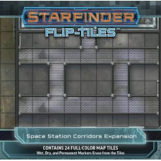 STARFINDER FLIP TILES SPACE STATION CORRIDORS EXP (C: 0-1-2)