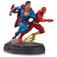 DC GALLERY SUPERMAN VS FLASH RACING STATUE