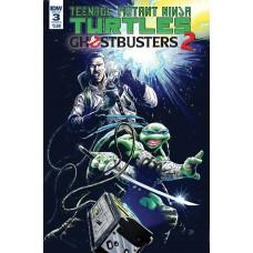 TMNT GHOSTBUSTERS II #3 CVR B GALUSHA