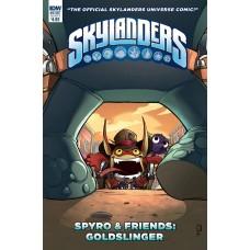 SKYLANDERS QUARTERLY SPYRO & FRIENDS GOLDSLINGER CVR A