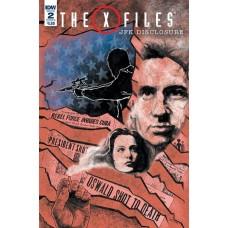 X-FILES JFK DISCLOSURE #2 (OF 2) CVR B LENDL
