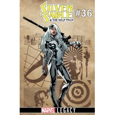 SILVER SABLE WILD PACK #36 LEGACY