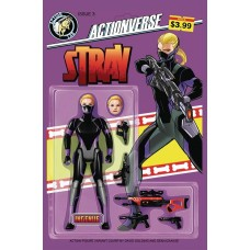 ACTIONVERSE ONGOING #3 STRAY CVR B GOLDING