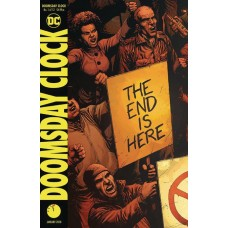 DF DOOMSDAY CLOCK #1 CGC GRADED