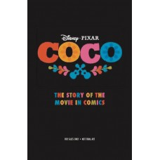 DISNEY PIXAR COCO STORY OF MOVIE IN COMICS YA GN