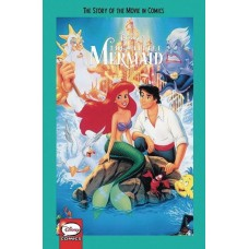 DISNEY THE LITTLE MERMAID STORY OF MOVIE IN COMICS YA GN