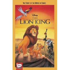 DISNEY LION KING STORY OF MOVIE IN COMICS YA GN
