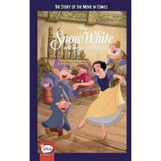 DISNEY SNOW WHITE & 7 DWARFS STORY OF MOVIE IN COMICS YA GN