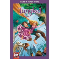 DISNEY TANGLED STORY OF MOVIE IN COMICS YA GN