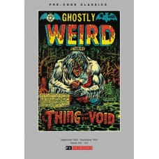 PRE CODE CLASSICS GHOSTLY WEIRD STORIES HC VOL 01