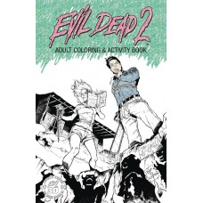 EVIL DEAD 2 ADULT COLORING ACTIVITY BOOK