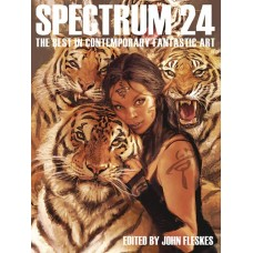 SPECTRUM ART BOOK SC VOL 24