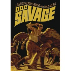 DOC SAVAGE DOUBLE NOVEL VOL 04 BAMA VARIANT CVR