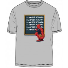 MARVEL DEADPOOL TIME OUT SILVER T/S LG