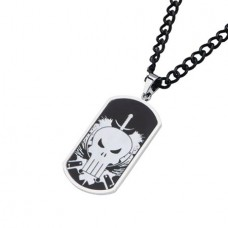 MARVEL PUNISHER SKULL DOGTAGS