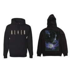 ALIEN FRONT AND BACK BLACK XL
