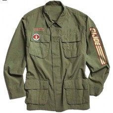 GI JOE COMMANDER ARMY JACKET LG