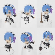 RE ZERO STARTING LIFE PUTITO SERIES 8PC TRADING FIG DIS
