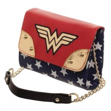 DC WONDER WOMAN SIDEKICK CROSS BODY HANDBAG