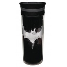 BATMAN CORE 16OZ TRITAN SLIDE TUMBLER
