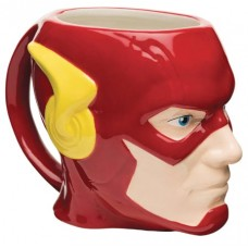 DC HEROES FLASH CERAMIC SCULPTED MUG