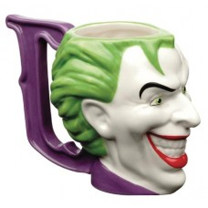 DC HEROES JOKER CERAMIC SCULPTED MUG