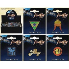FIREFLY ENAMEL PIN 30PC ASST (Net)