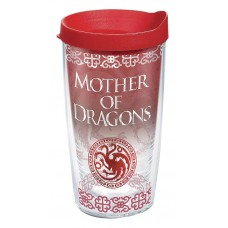GOT MOTHER OF DRAGONS 16OZ TUMBLER W/ RED LID