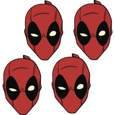 MARVEL DEADPOOL PLATE SET