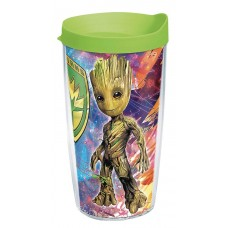 MARVEL GOTG2 BABY GROOT 16OZ TUMBLER W/LID