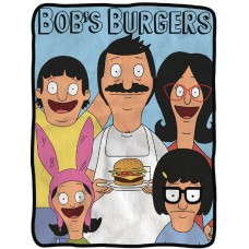 BOBS BURGERS FLEECE BLANKET