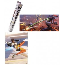 OVERWATCH BLIND BOX POSTERS 24PC BMB DS