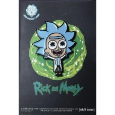 RICK AND MORTY POCKET TINY RICK LAPEL PIN