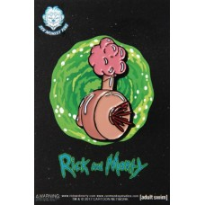 RICK AND MORTY PLUMBUS LAPEL PIN