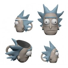 RICK AND MORTY RICK 3D MOLDED MUG