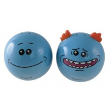 RICK AND MORTY MR MEESEEKS SALT AND PEPPER SHAKERS