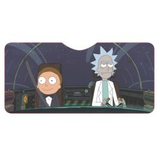 RICK AND MORTY DRIVING SHIP CAR SHADE