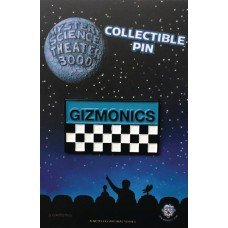 MST3K GIZMONICS BADGE LAPEL PIN