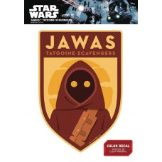 STAR WARS JAWA TATOOINE SCAVENGERS DECAL