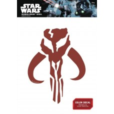 STAR WARS MANDALORIAN SKULL DECAL
