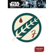 STAR WARS MANDALORIAN INSIGNIA DECAL