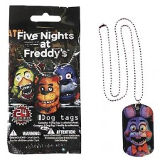 FNAF DOGTAG NECKLACES 36PC BMB DS