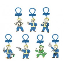 FALLOUT 4 FIGURE HANGERS 24PC BMB DS