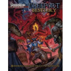 PATHFINDER RPG FREEPORT BESTIARY HC
