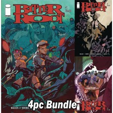 BITTER ROOT #1 CVR A B C D 4PC BUNDLE