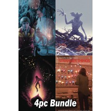STRANGER THINGS #3 CVR A B C D 4PC BUNDLE